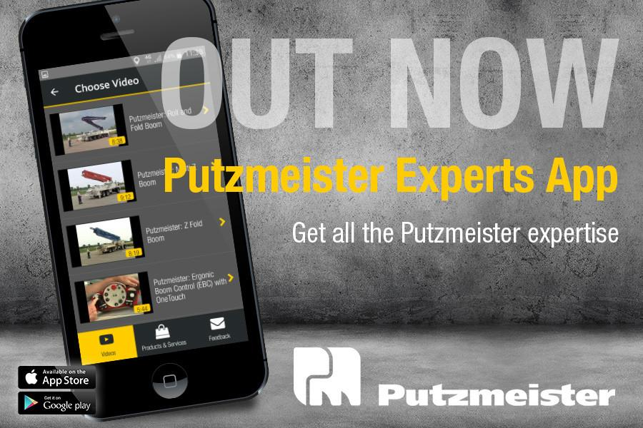 Putzmeister Experts App puts knowledge in the customer's hand.