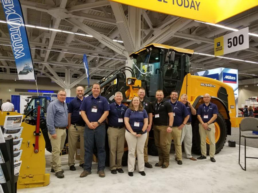 Hyundai Construction Equipment Americas participated in the Snow Ice Management Association (SIMA) Symposium.