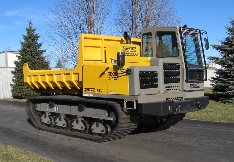 The Terramac RT9.