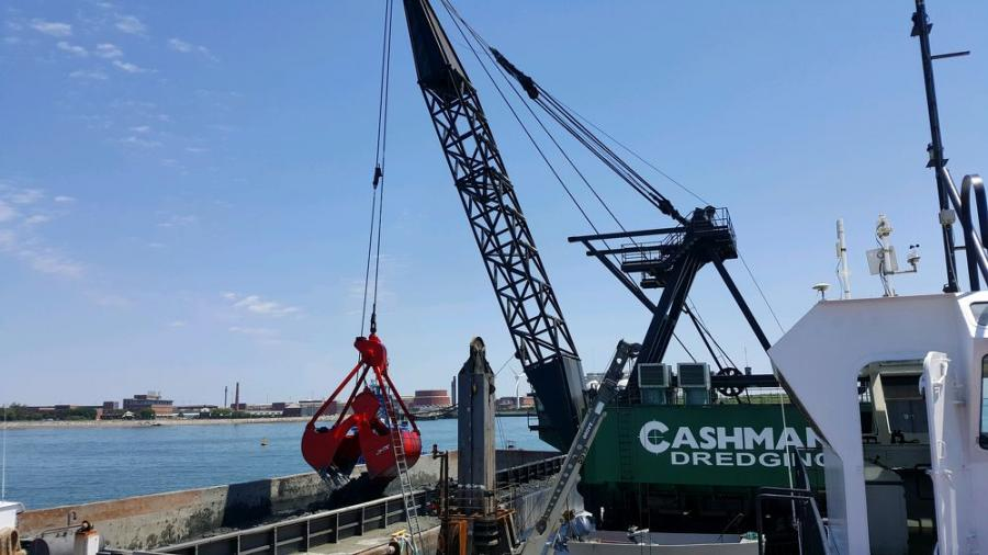The dredging project in the Boston Harbor is designed to accommodate large container ships that are calling on the United States' east coast now that the Panama Canal improvements are completed, according to the U.S. Army Corps of Engineers.