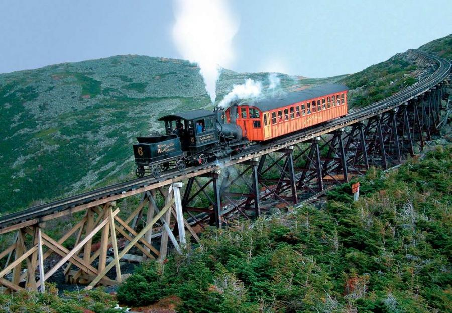 The Cog Railway is starting to redo the entire line from the base to the summit.