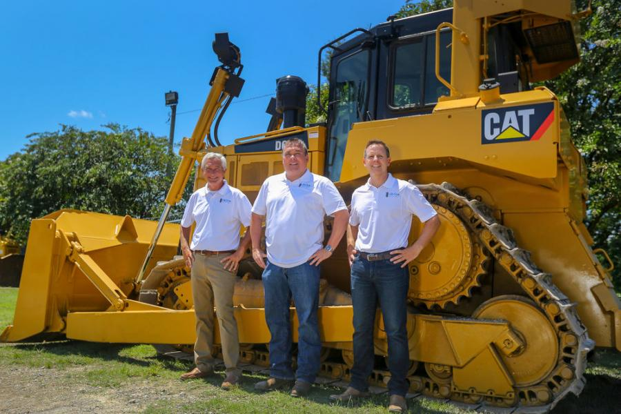 (L-R): Ross McMillan Jr., Matt McGaffee and Mike Finley have joined forces to form Iron Auction Group.