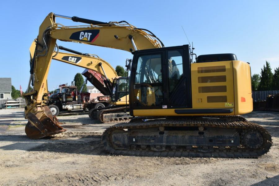 These Cat excavators are looking for a new home.