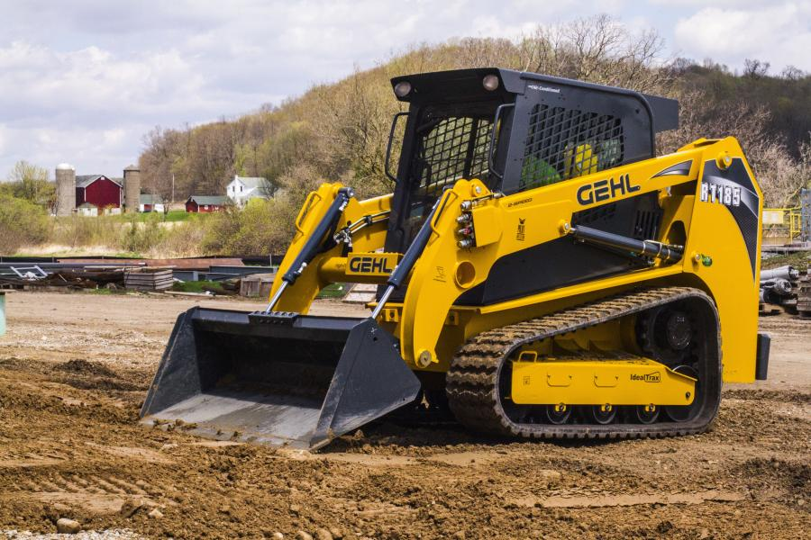 The Gehl RT185 joins the RT165, RT215 and VT320, bringing the Gehl Pilot Series line up to four pilot-controlled track loader models for North America.