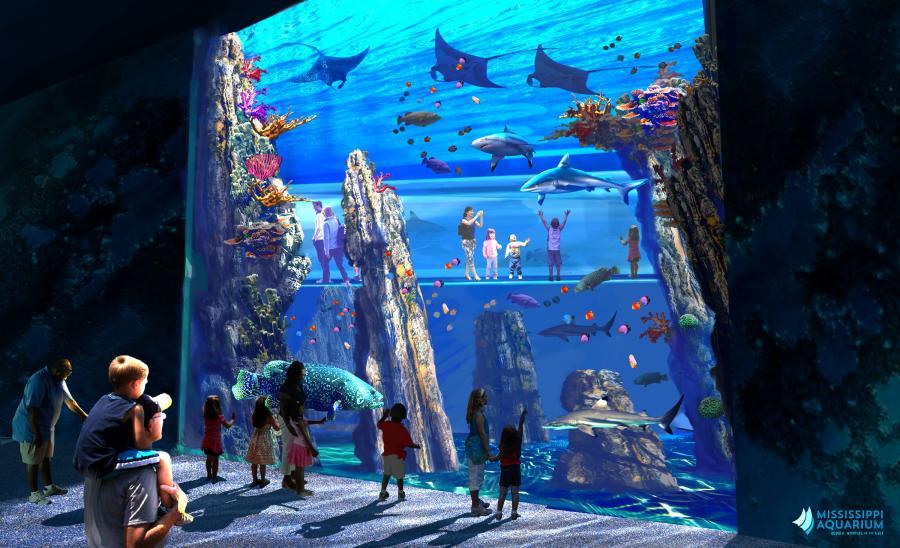 Gulfport Eyes Major Tourism Boost With 93m Aquarium