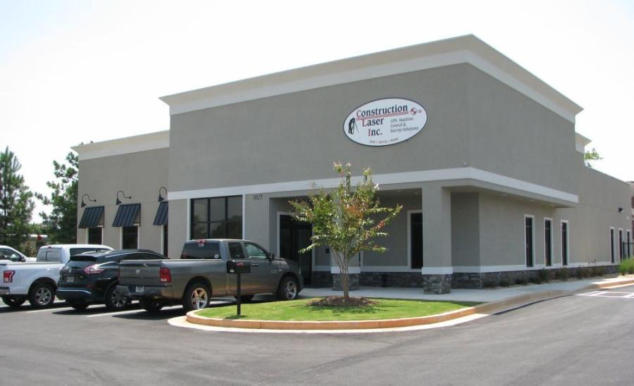 The brand-new Construction Laser facility is located at 1025 Henry Parkway Connector, just off Hwy. 155 to the north of I-75 in McDonough, Ga.