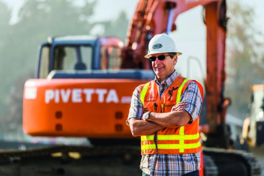 Mark Pivetta, owner of Pivetta Brothers Construction