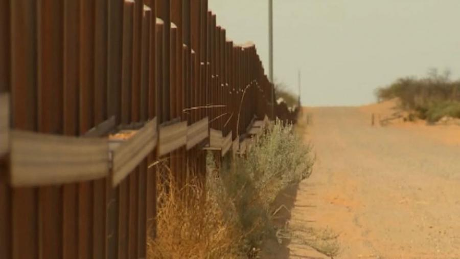 More than 8,100 panels spanning more than 11 miles have been constructed on the border wall along a desolate stretch of the U.S.-Mexico border in southern New Mexico.
