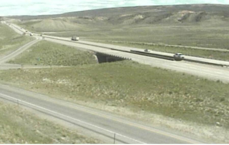 Interstate 80 in Rock Springs (WYDOT photo)