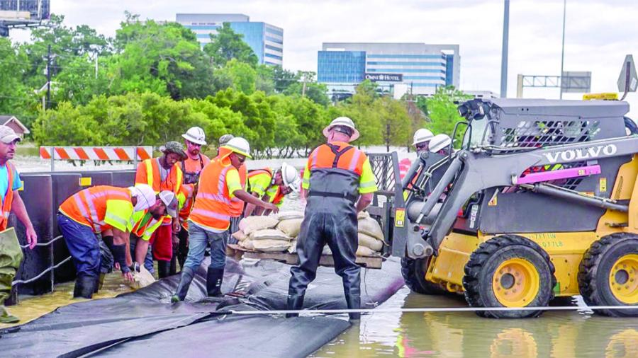 Voters marked the anniversary of Hurricane Harvey coming ashore by approving the issuance of $2.5 billion in bonds to fund flood-control projects that might mitigate the damage caused by future storms.