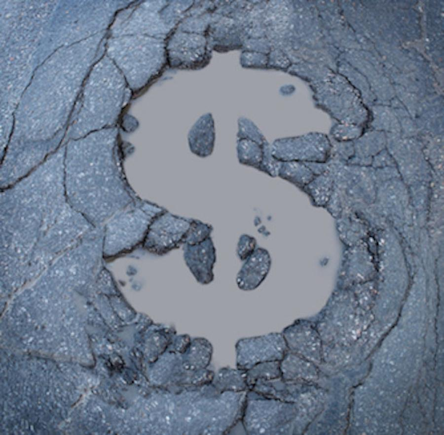 Driving on deteriorated roads costs California motorists a total of $22.1 billion each year in extra vehicle operating costs, according to the Trip report.