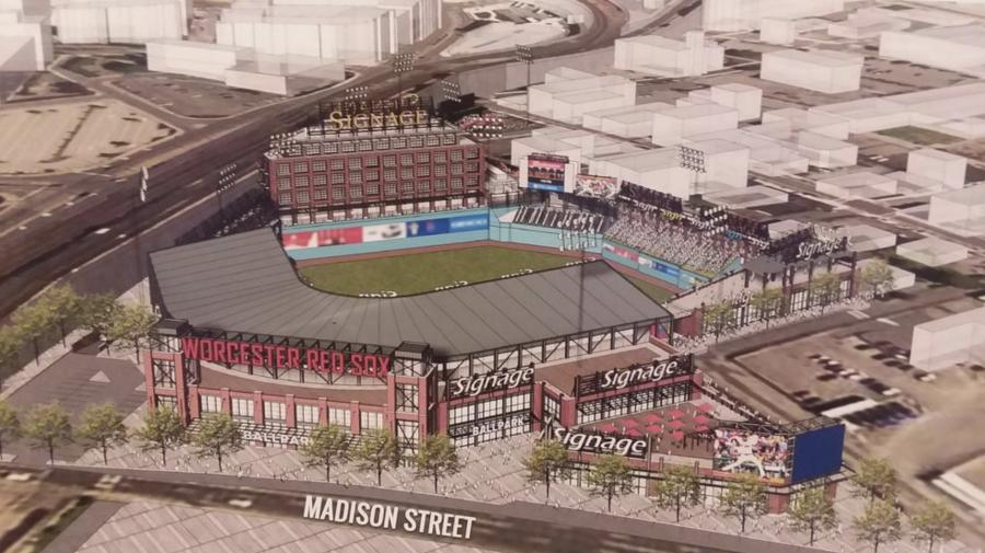 City of Worcester rendering