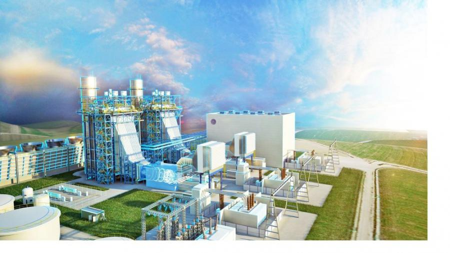 DTE Energy broke ground on a state-of-the-art, $1 billion natural gas-fueled plant in Michigan. (DTE Energy photo)