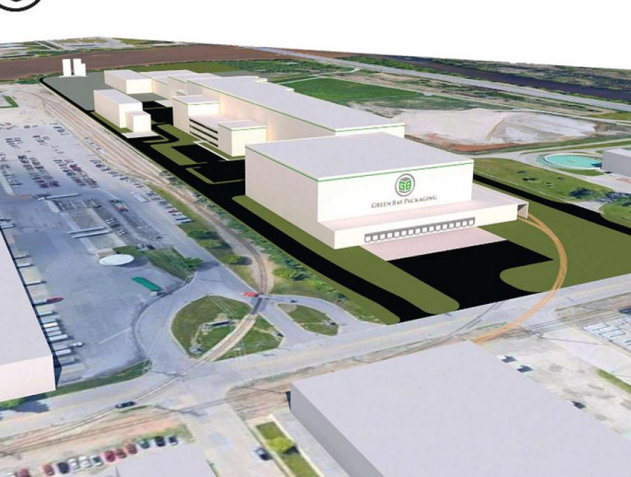 Green Bay Packaging broke ground on its new paper mill in Green Bay.