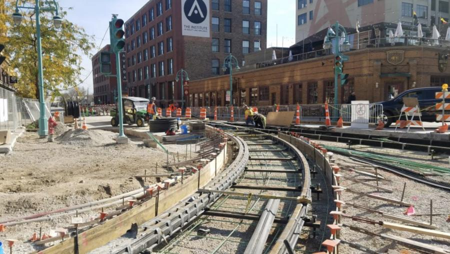 City Anxiously Awaits Streetcar Line Opening | Construction