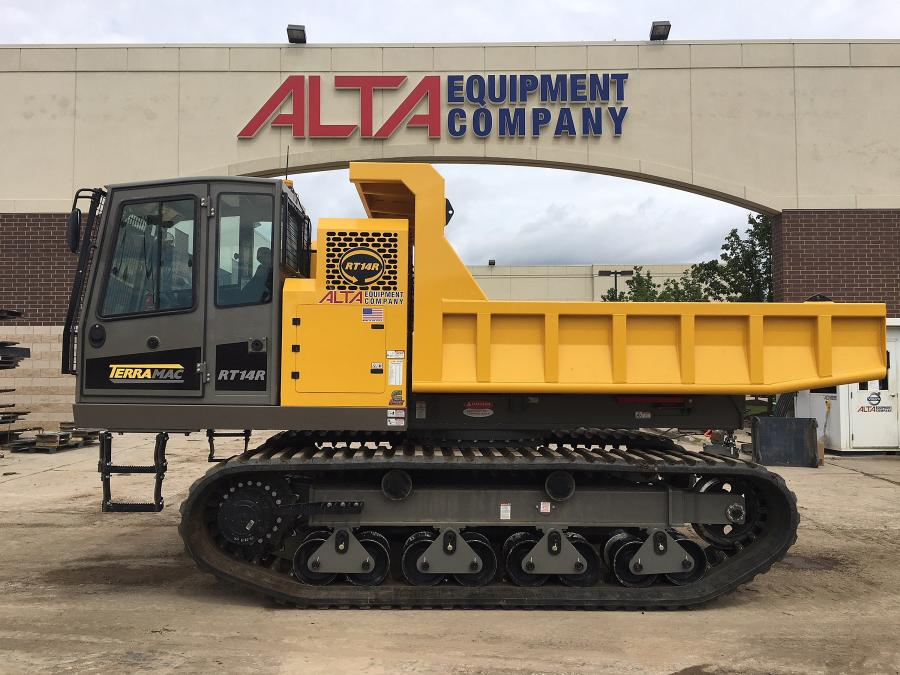 Terramac expands its representation in the North American market to include Alta Equipment as part of its dealer network.