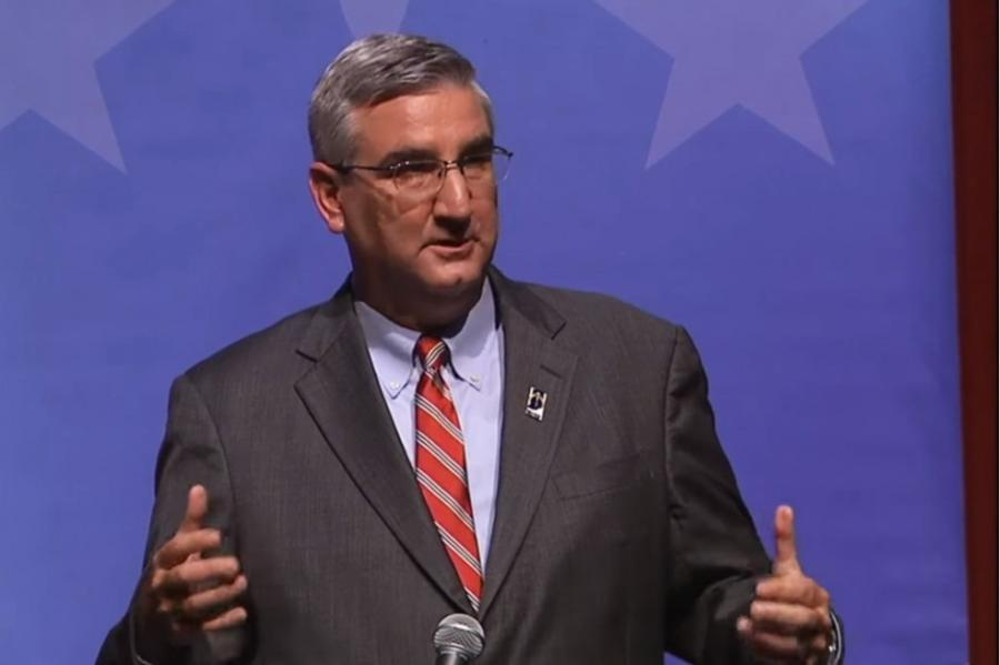 Gov. Eric Holcomb (Photo Credit: Indiana Public Media)
