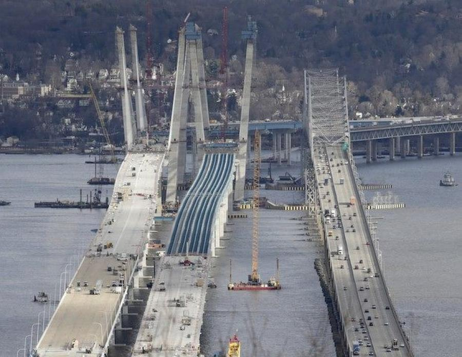 "Construction workers said they heard a loud ""pop"" from the old Tappan Zee Bridge around 5 p.m. in the evening on Sept. 7, a day before the new span of the Gov. Mario M. Cuomo Bridge was supposed to officially open, LoHud reported."
