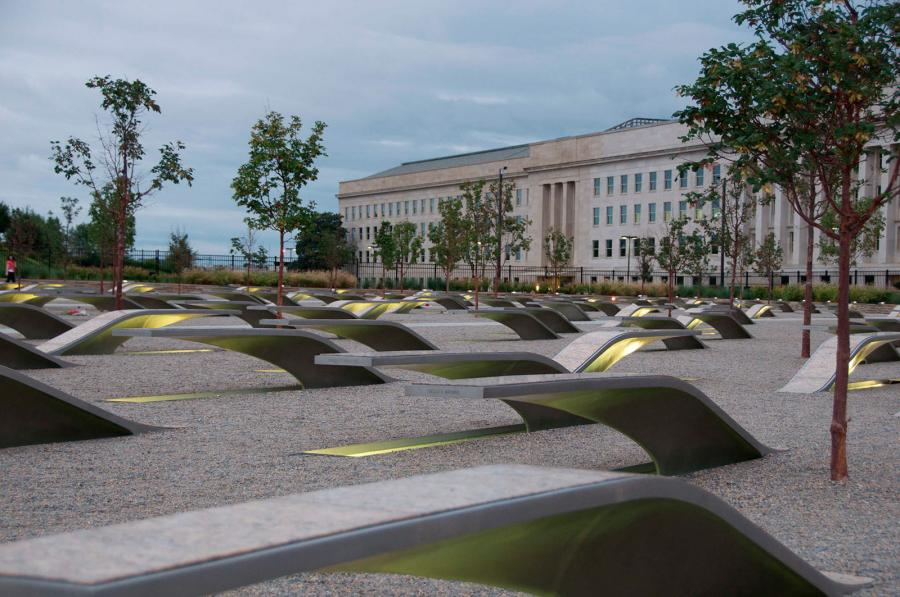 The Pentagon Memorial receives over 1 million visitors annually and has become an anchor tourist attraction in Arlington County.
