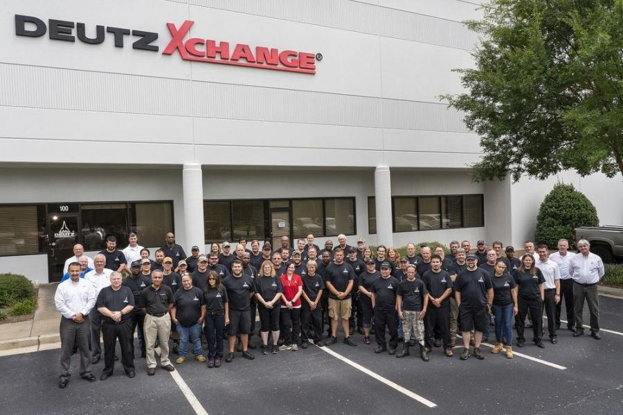 The current Deutz Xchange team gathered to celebrate the 10th anniversary of Deutz Xchange.