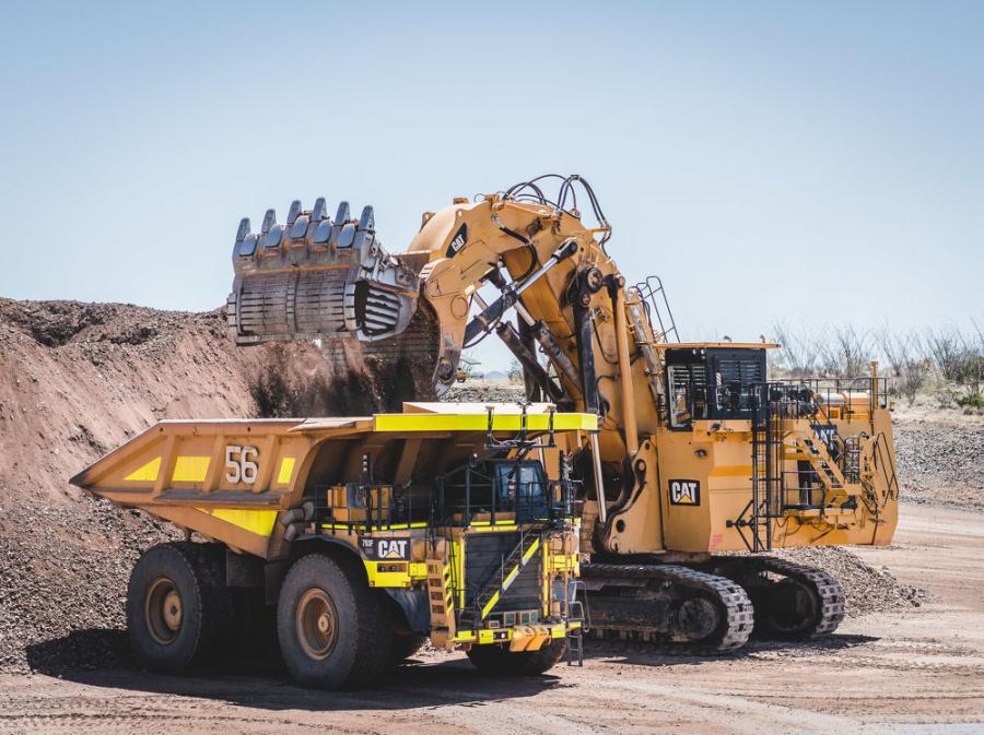 In the most remote places on earth, trucks hauling an upwards of 400 tons — about the weight of 200 cars — roam from pit to crusher with no humans in sight. These trucks are part of Caterpillar's Cat Command for Hauling system, commonly referred to as autonomous trucking. (Aaron Witt photo)