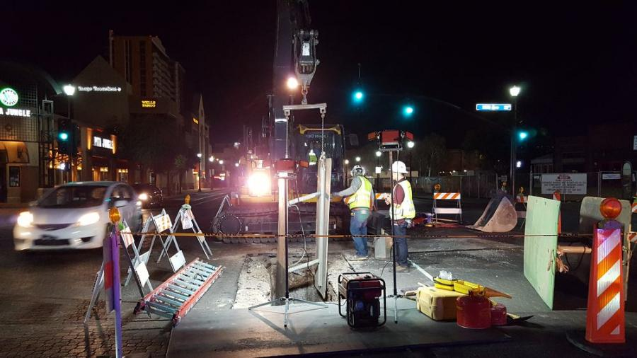 Much of the Tempe Streetcar Project funding comes from federal, regional and local funds. About $13 million will be from a public-private partnership between the city, Arizona State University and property owners. (Valley Metro photo)