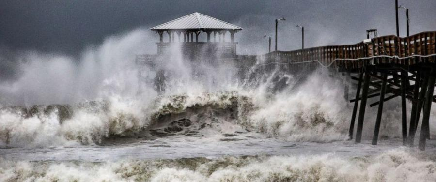 Five states declared states of emergencies well before Florence came ashore. (Photo Credit: ABC News)