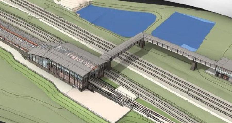 Potomac Yard Station rendering (City of Alexandria, Virginia photo)