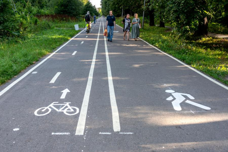 Examples of eligible TAP infrastructure projects include sidewalks, pedestrian amenities and wayfinding, bike lanes, bike parking and bike share systems, all meant to improve safety for pedestrians and bicyclists.