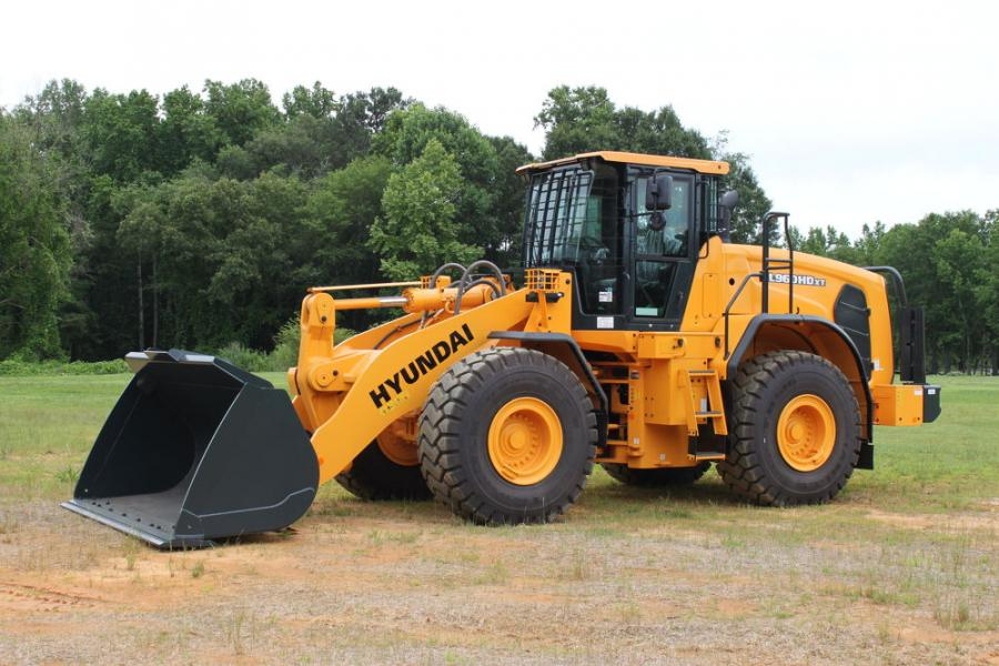 Developed to protect the machine from jobsite hazards found in various wheel loader applications, the guarding package for the HL960HD wheel loader helps ensure the operational integrity of key systems and components.