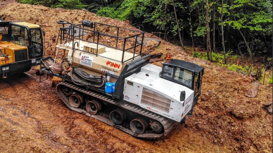 Multi Machine's off-road hydroseeders Panther T8 and T12, designed to restore destroyed vegetation, are a token of its commitment to the environmental cause.