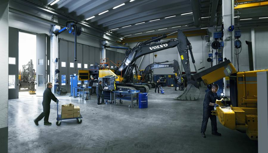 Applicable new machine purchases come with the standard Volvo warranty, four years of free CareTrack telematics service and one free year of ActiveCare Direct machine monitoring and reporting.