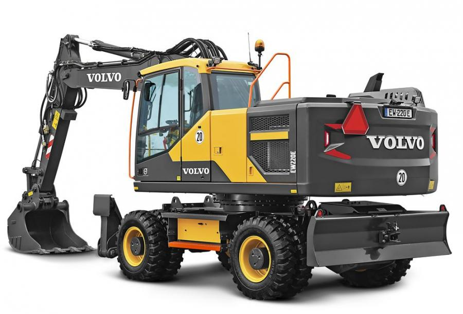New Volvo Wheeled Excavators Available Through Sourcewell, HGACBuy