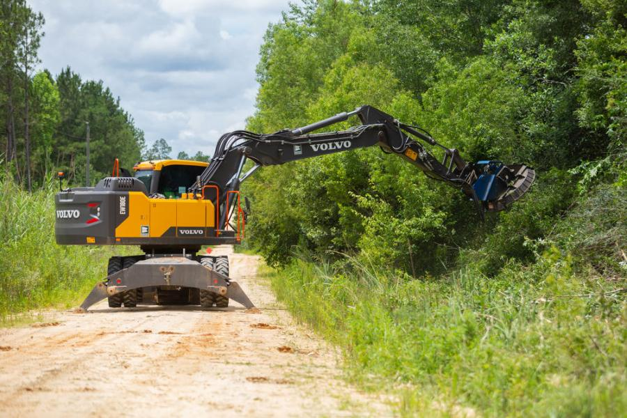 Ralls decided to invest in bigger equipment to make the process more efficient and turned to Sourcewell to find the best excavator for the county, eventually purchasing a Volvo EW180E.
