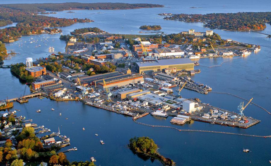 The Portsmouth Naval Shipyard (Portsmouth Naval Shipyard photo)