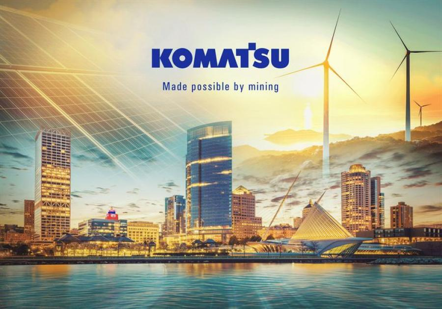 Plans for Komatsu's South Harbor Campus include the design and construction of new office, manufacturing and training facilities.