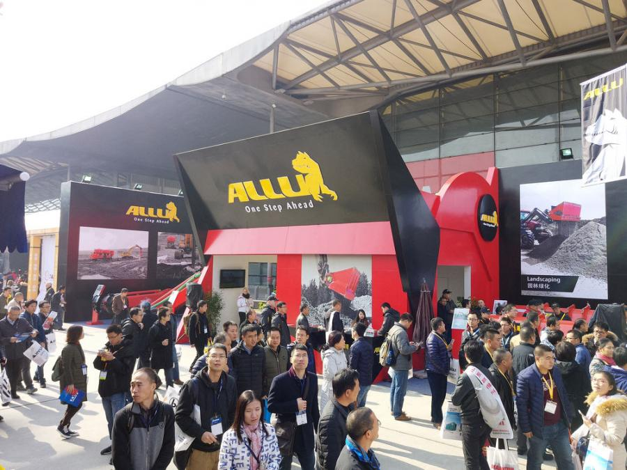 At the trade show, ALLU will reaffirm its commitment to the Chinese and Asian markets by exhibiting a cross section of its Processor and Transformer technology.