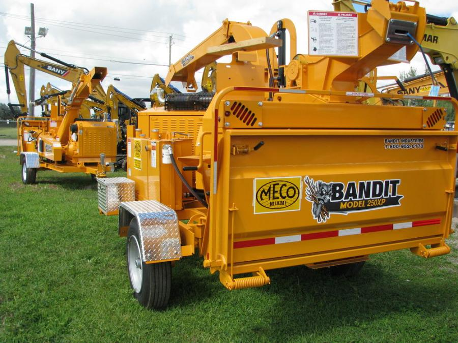 Meco Miami Inc., which has served south Florida for 50 years, is now an authorized dealer of Bandit equipment.