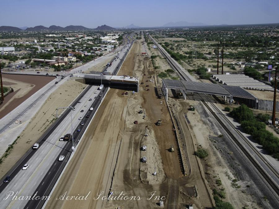 ADOT is overseeing $128 million in improvements, which are funded by the Federal Highway Administration, the Pima Association of Governments and the Regional Transportation Authority.
