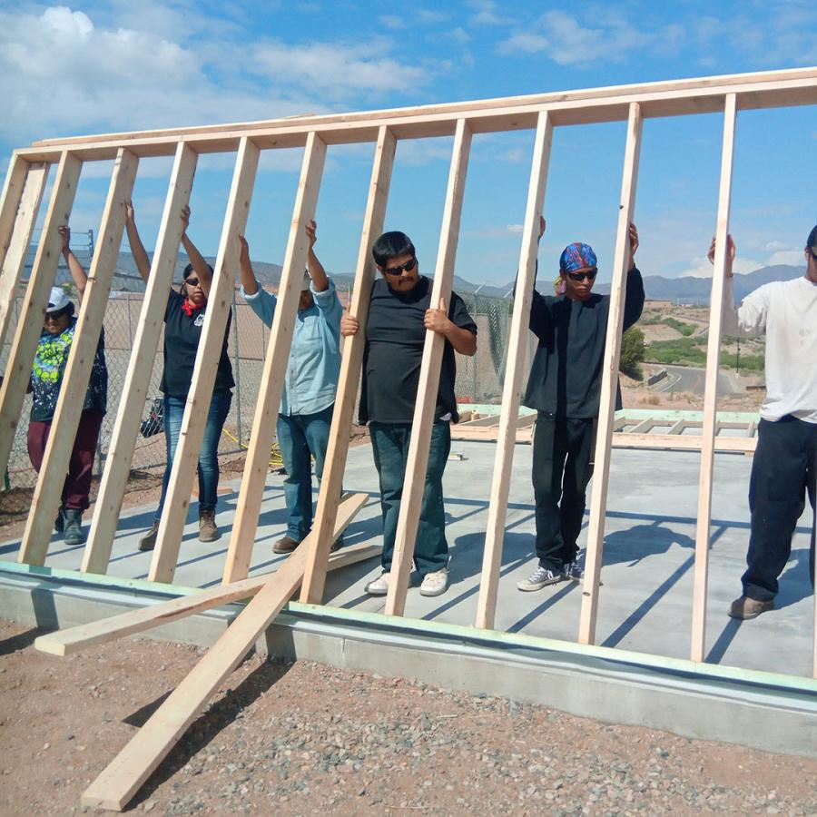 Dozens of members of the Yavapai-Apache Nation have completed a Construction Academy that helps them launch careers in transportation. (Arizona DOT photo)