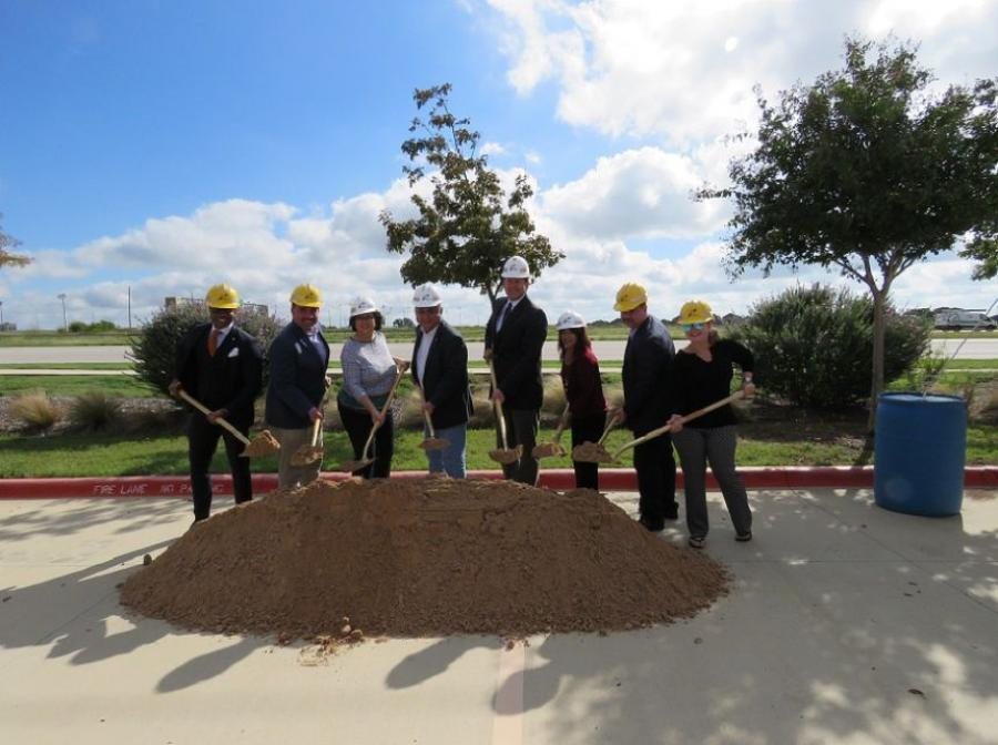 Elected officials from both the state and city of Pflugerville joined the Texas Department of Transportation for the groundbreaking ceremony.