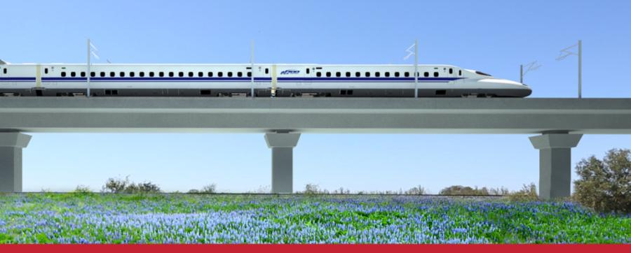 Texas Central Partners has secured a $300 million loan for a proposed high-speed rail project from Dallas to Houston. (texascentral.com photo)