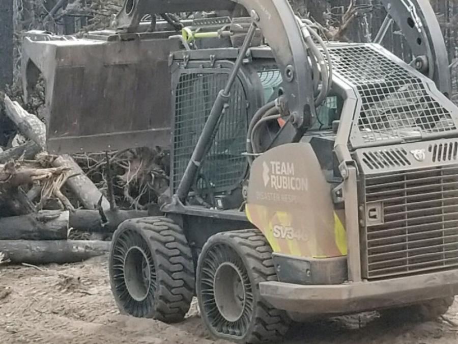 Case Construction Equipment and heavy equipment dealer Titan Machinery, donated the use of skid steers and compact track loaders for wildfire cleanup in Costilla County, Colo., as part of Operation Freedom Fire.