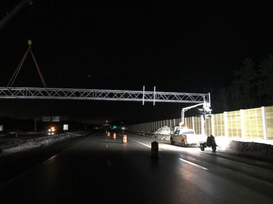 Night work will begin on the Spaulding Turnpike (NH 16) to facilitate the reconstruction of the Exit 6 Interchange on the Spaulding Turnpike in Dover.