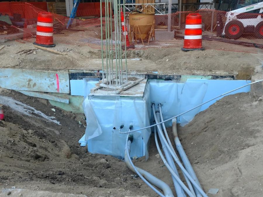 Airport Conveyor Job Relies on Excavation Support