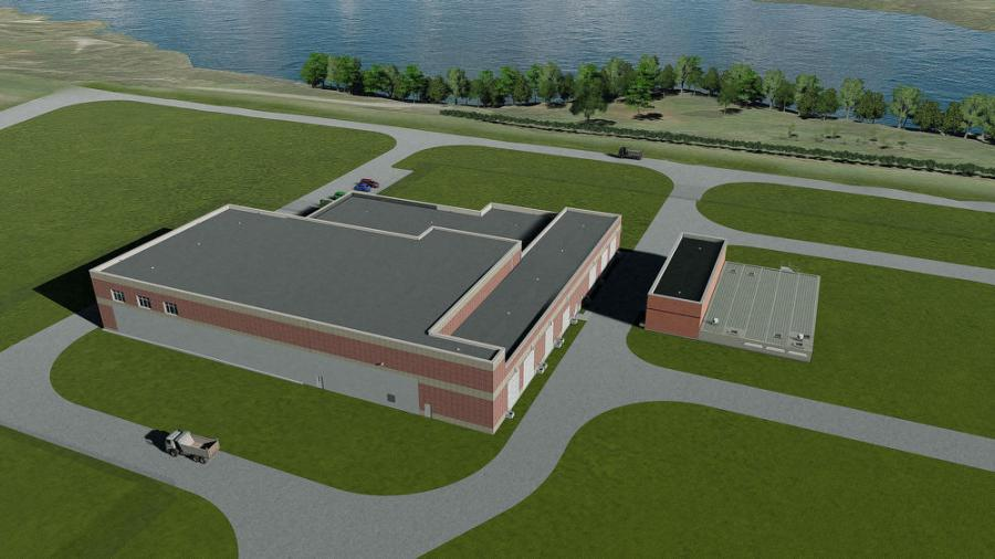 Indiana American Water of Richmond, Ind., expects to complete its new water treatment plant and a raw water pumping station by March 20, 2019.