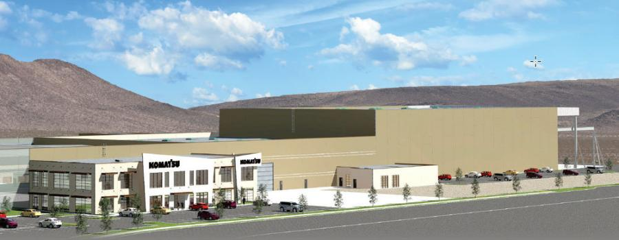 Planned for completion in early 2020, the new facility will combine the staff and functions of three existing buildings. When operational, the new customer support and service center will be capable of providing expanded support to construction and mining machines across western North America.