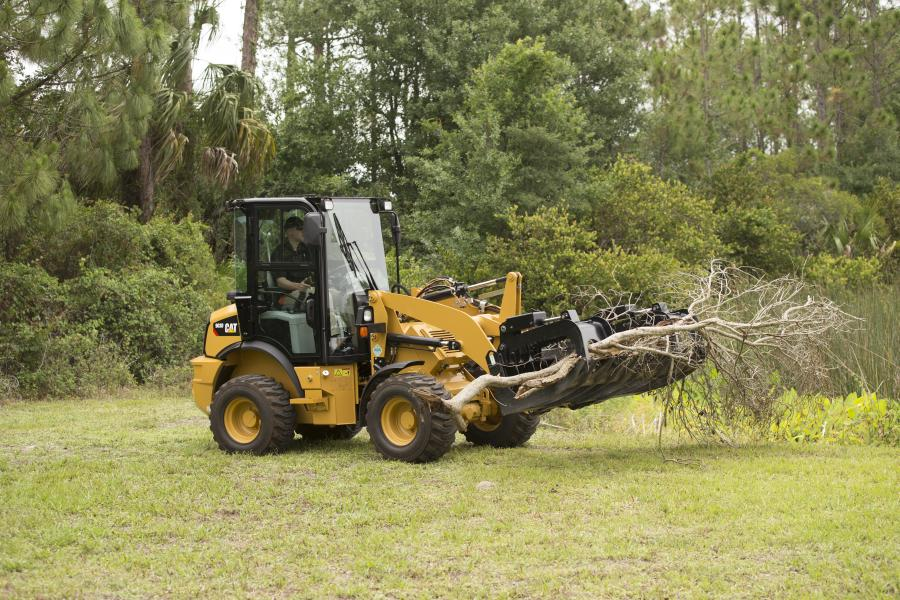 With new optional features, such as creep control, throttle lock and work tool electrical harness, the 903D has the ability to run any number of tools.
