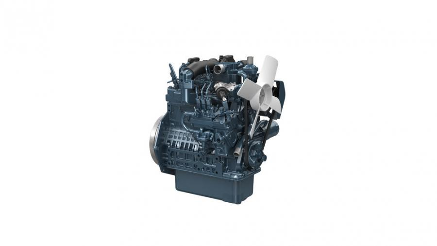 The D902-T-E4 has the same engine footprint as its counterpart, the naturally aspirated D902-E4 mechanical engine. Like the D902-E4, the D902-T-E4 also has a mechanical fuel injection system, so it fits right into its family of Kubota Super Minis.