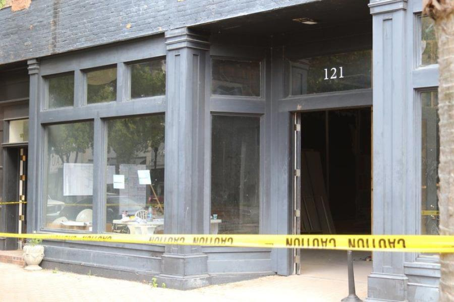 The Valdosta Daily Times reported a construction crew preparing a commercial space in downtown Valdosta found about a thousand teeth inside a second-floor wall. (Photo Credit: The Valdosta Daily Times)